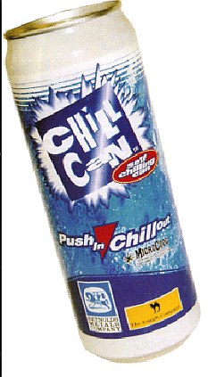 The can is claimed to be better for the environment than normal cans which have to be kept cool in chilller cabinets