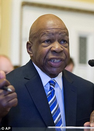 Elijah Cummings (D-MD) testifies to the House Rules Committee about a proposed vote to find U.S. Attorney General Eric Holder in contempt of Congress