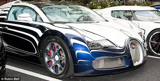 Designed to stand out and be unique, the Bugatti Veron known as L'Or Blanc or White Gold does just that