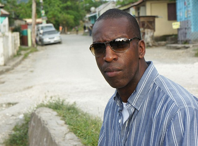 Legacy: Michael Johnson, pictured in Jamaica, says black American and Caribbean sprinters have a 'superior athletic gene'
