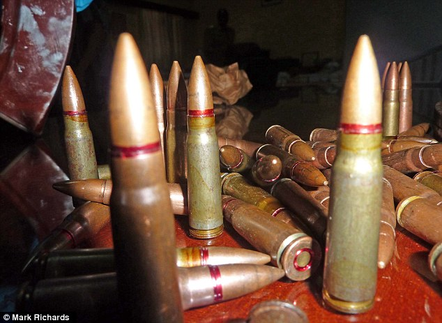 A stash of deadly ammunition which was recovered from a villa in Mombasa, rented by Samantha Lewthwaite