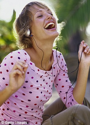 If you listen to pop as you chew, make sure the music is slow