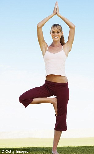 Doesn't work: Doing only stretching. It burns just 144 calories in 50 minutes