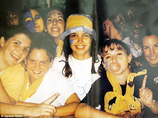 Image result for katie holmes, high school