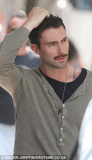Maroon 5 Frontman Adam Levine Suddenly Sprouts A Fuzzy