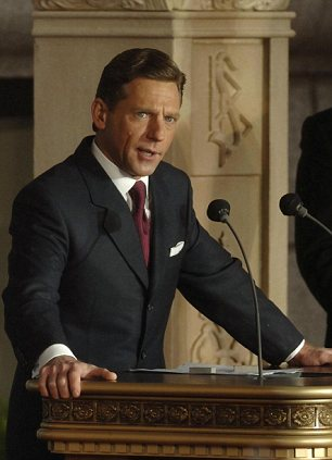 Where is his wife? David Miscavige speaking during the opening of the Church of Scientology's new church in the City of London