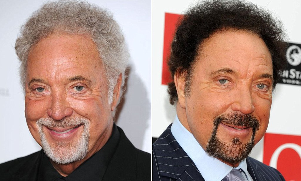 Tom Jones Is Right Hair Dye On Men Just Wont Wash And I
