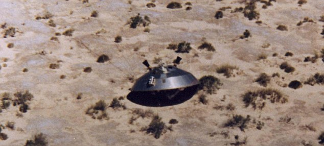 The truth is out there? The U.S. Air Force released this 1972 photo of a Viking space probe as part of its report on the so called 'Roswell Incident' of 1947.