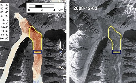 Experts cautioned that the gain is so small that the glaciers might not actually be growing - but what is clear is that the glaciers are not shrinking, according to a report published in Nature Geoscience