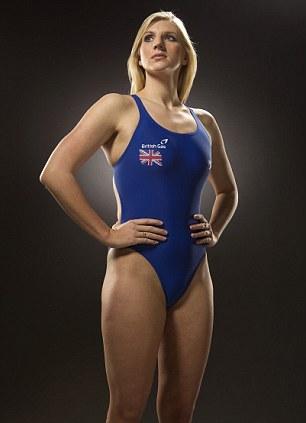 London 2012 Olympics Rebecca Adlington Exclusive Daily