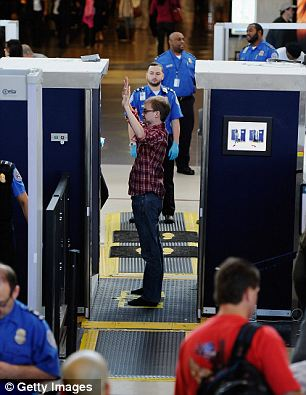 No body scanner required: The laser will have similar if not stronger capabilities to that of a body scanner but could be used from up to 50 meters away