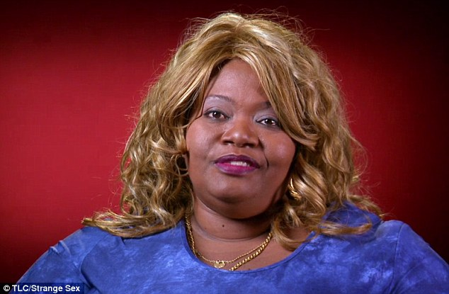 Born star: She told TLC's Strange Sex that she has never considered undergoing a breast reduction