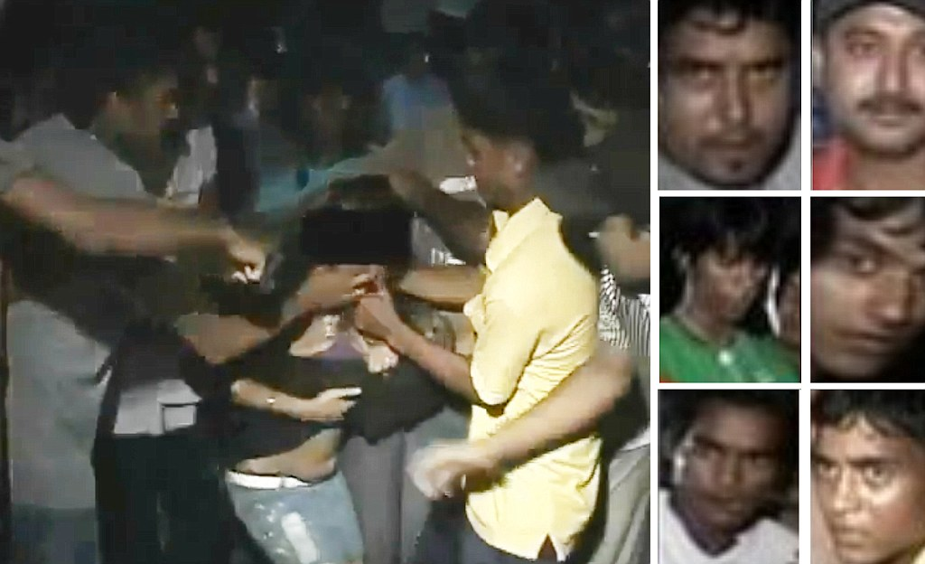 Young Woman Stripped And Beaten By Mob Of Men In India As
