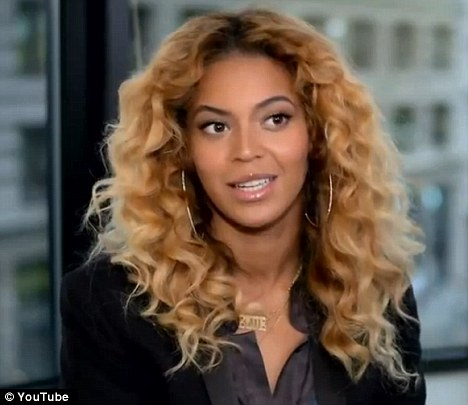 A-list support: Beyonce has appeared in a video released by the Obama re-election campaign, describing her admiration for the First Lady