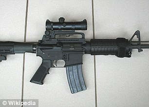 Aurora Shooting Weapons - Colt AR-15 Tactical Carbine