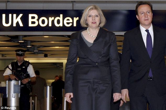 Shambles: The UK Border Agency was established in 2008 to control immigration to this country