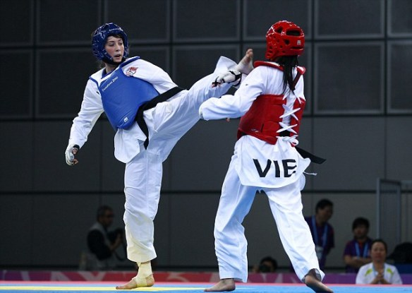 Going for glory: Jade Jones is looking for gold