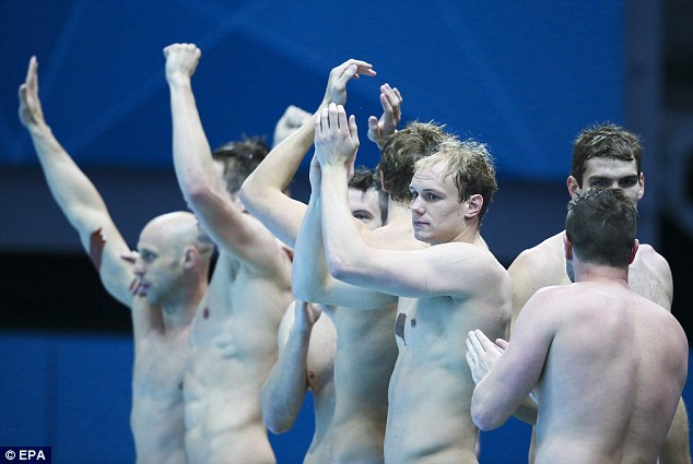 2008 Silver Medal Water Polo