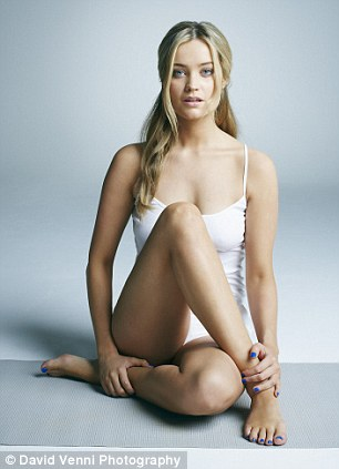 Laura Whitmore Launches Footcare Campaign As She Poses