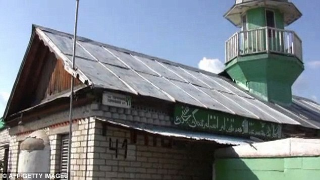 Isolated: Children were kept in an underground eight-level warren of cramped rooms beneath the mosque
