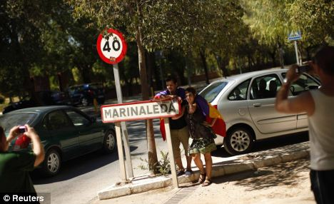 Marinaleda - population 2,645 - is located in Andalusia where one in three people is unemployed