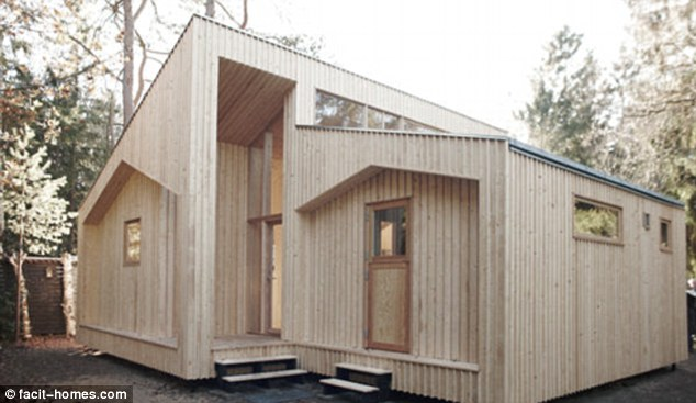 The ultimate DIY project: The flat pack house can be quickly assembled