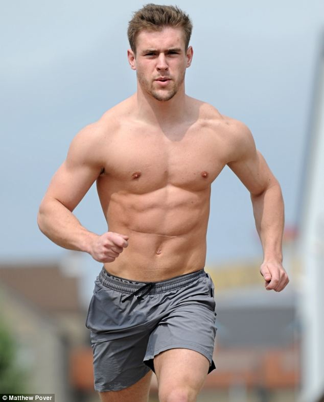 Personal trainer Ben does two hour-long daily workouts to stay healthy