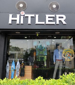 'Hitler' opened two weeks ago and the owners say the name brings them business