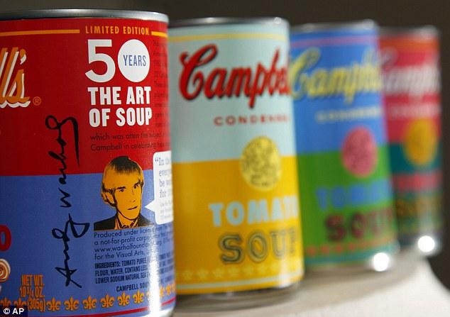 (炒呀...全球得120萬)金寶湯推出Andy Warhol限量版罐 - 香港高登討論區