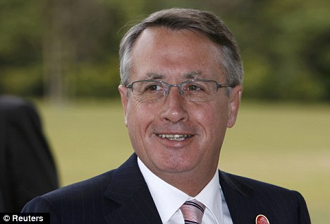 Reposte: Australian treasurer Wayne Swan described Rinehart's comments as 'an insult to millions of Australian workers'