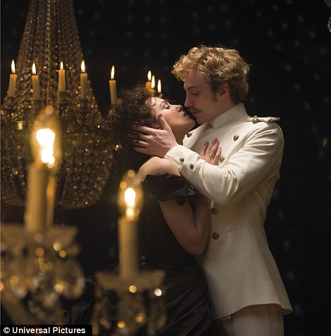 Lighter locks: Keira Knightley and Aaron Taylor-Johnson in Anna Karenina