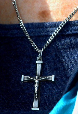 Faith: The cross is a symbol of faith for Christians, but employers can ban them at work, according to the Government