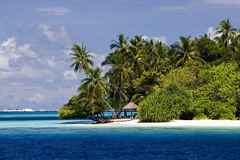 Paradise island: The Maldives is better known as a stunning holiday destination than for its draconian laws