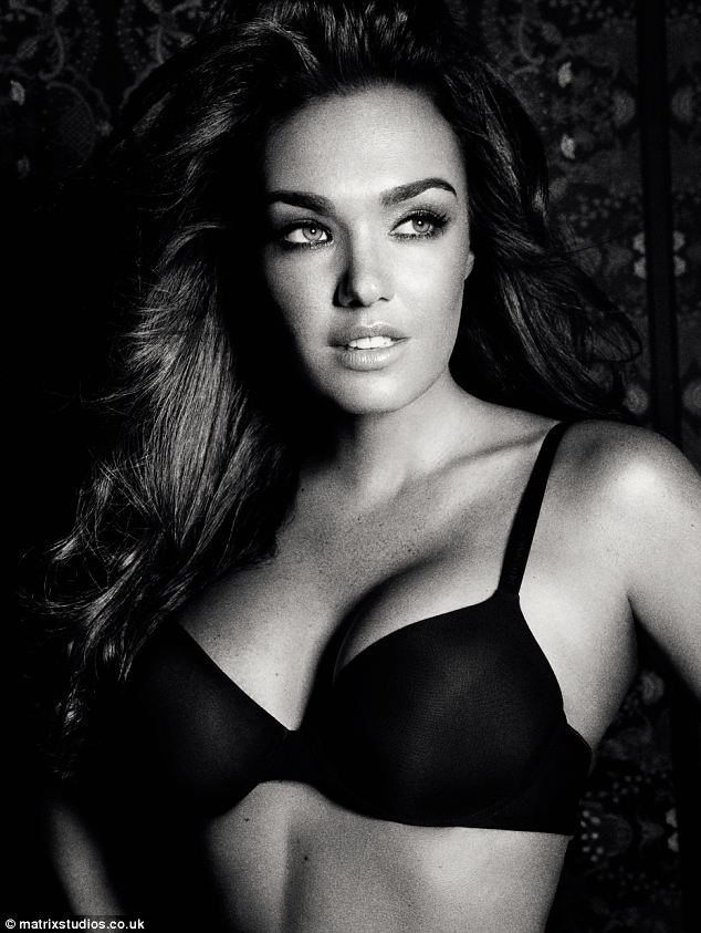 Showing him just what she's missing! Tamara Ecclestone has shown off her incredible figure in a raunchy new underwear shoot