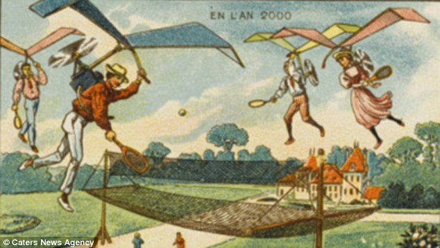 Bizarre 19th Century Postcards Reveal How French Artists