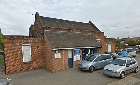 Dr Abdulrazaq Abdullah was accused of rubbing a patient's breasts and telling her the only way he would sign her off sick was if she had sex with him at his Rainham Health Centre, in Essex (pictured)