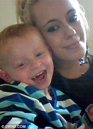 Katie Crean with her son Dylan