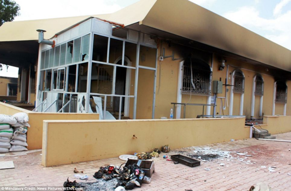 Target: The embassy was vulnerable to attack because it did not have bulletproof glass, reinforced doors or other features common to embassies
