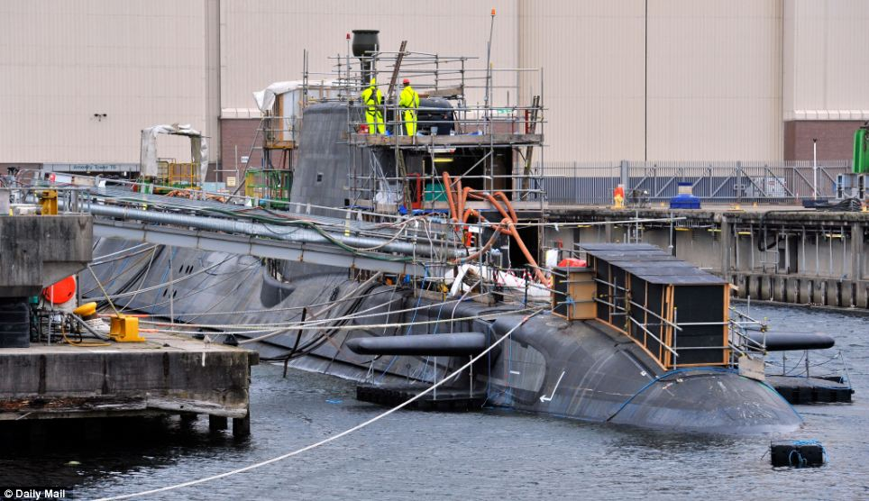Detailed: HMS Ambush was fitted out with her sophisticated technology at Devonshire dock hall in Barrow-in-Furness Cumbria. She contains some of the most hi-tech weapons and sonar systems ever created