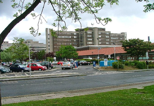 Good news: Mr Taylor learned he had the all-clear in a letter sent from North Tees hospital