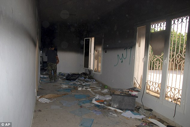 New claims: A member of a Libyan security force said he had met with American diplomats three days before the deadly assault to warn them about the deteriorating situation in the country