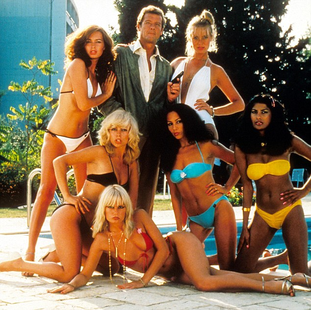 Gentlemen prefer Bond girls: Sir Roger in For Your Eyes Only from 1981