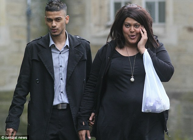 Muhammed Aziz with Salma Hussain, at Snaresbrook Crown Court