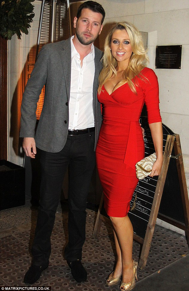 Devoted: Actress Gemma Merna and husband Ian Minton who inspired the zero sugar drink