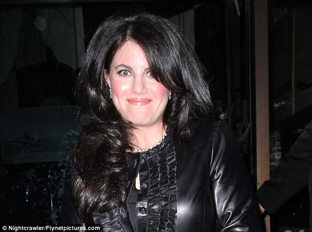 Speaking out: Monica Lewinsky is reportedly writing a $12 million tell-all book about her affair with Clinton