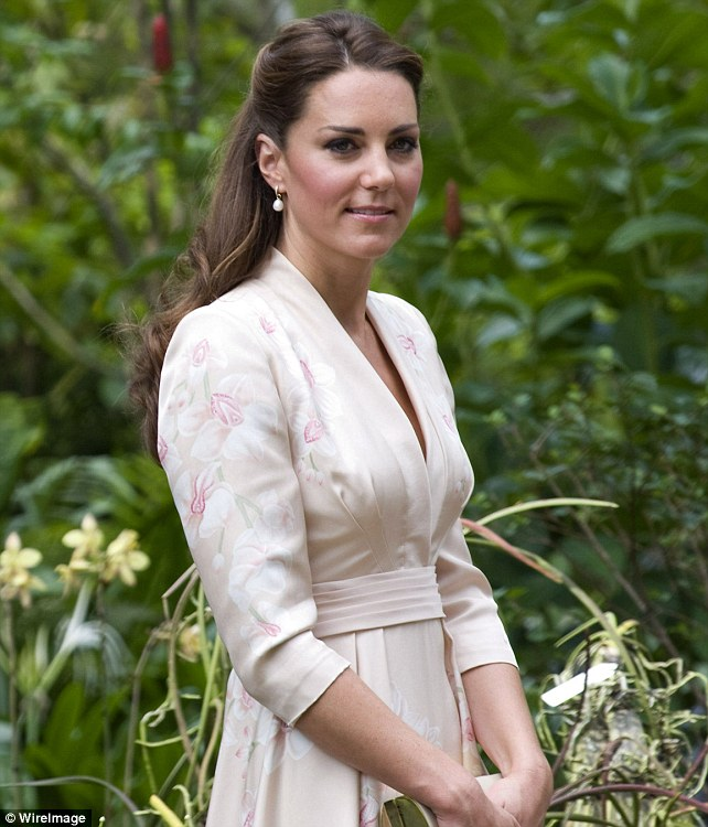 The future Queen: Catherine, Duchess of Cambridge visits Singapore Botanical Gardens last week