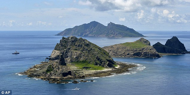Disputed: China is challenging Japan's claim to the Senkaku Islands in the East China sea
