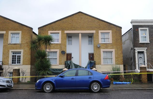 Scene: Myles Williams, 19, burst into Kirsty Treloar's family home in east London on January 2 and stabbed her 29 times