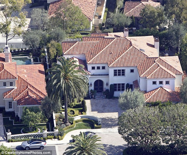 Asking isn't always getting: Vanessa put the Newport Beach, California home up for sale in September with an asking price of $3.75 million
