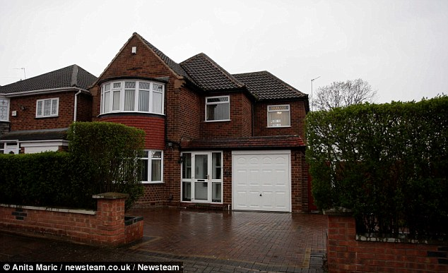 Scene: Naila Mumtaz, who was six months pregnant was found smothered to death in this house in Birmingham in 2009